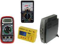 Meters, Scopes and Function Generators