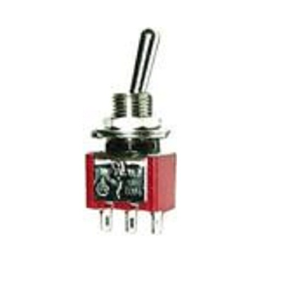On-Off-On Gaugemaster GM510 SPST Miniature Toggle Switch