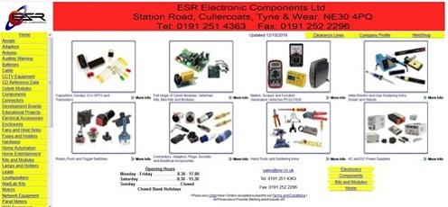 ESR Electronic Components Ltd - 0191 251 4363 -
