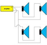 series parallel of low impedance speakers