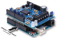 Adafruit Motor/Stepper/Servo Shield :: Solarbotics