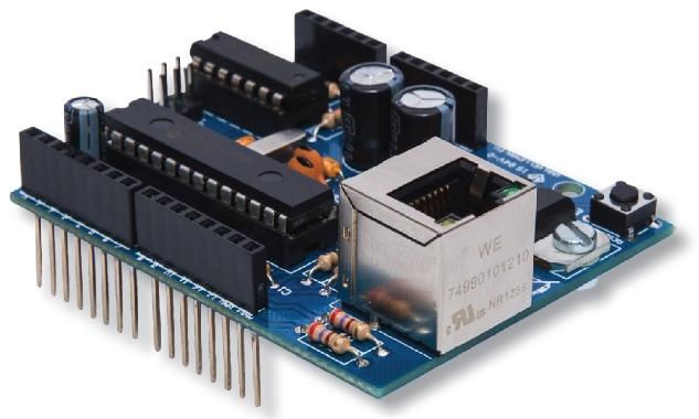 Velleman ka ethernet shield for arduino uno